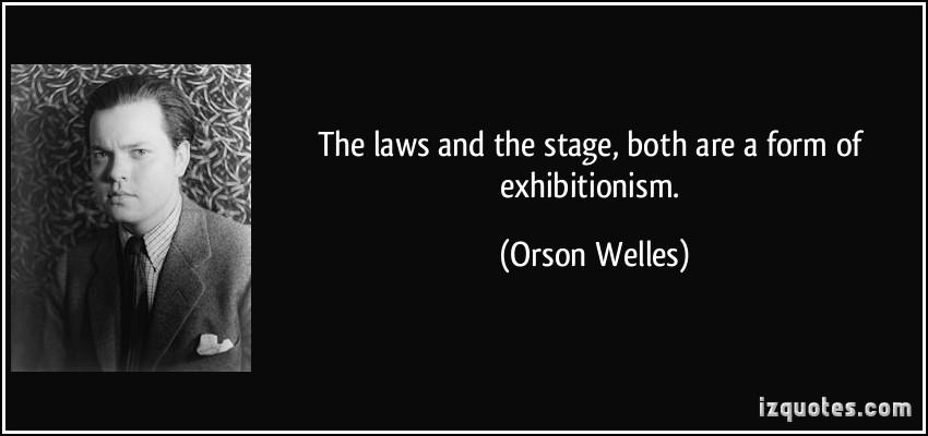 Exhibitionism quote #1