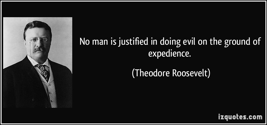 Expedience quote #1