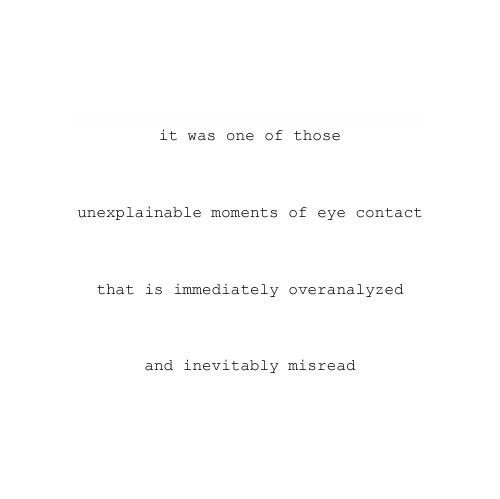 Eye Contact quote #1