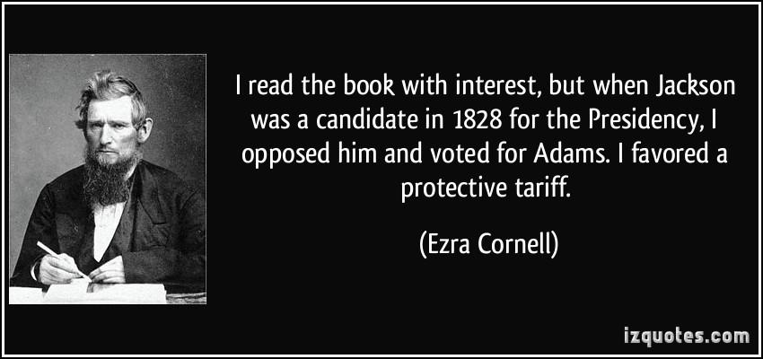 Ezra Cornell's quote #3