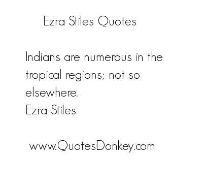 Ezra Stiles's quote #2