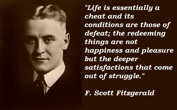 F. Scott Fitzgerald's quote #3