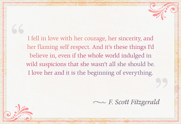 F. Scott Fitzgerald's quote #7