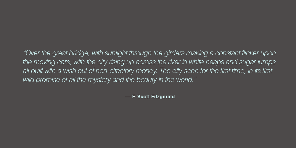 F. Scott Fitzgerald's quote #1
