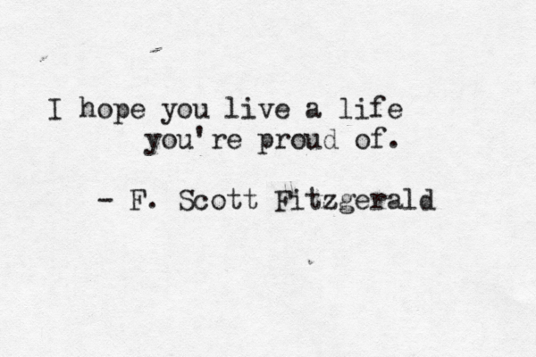 F. Scott Fitzgerald's quote #8
