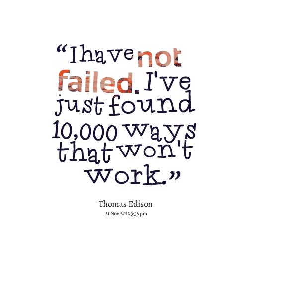 Failing quote #6