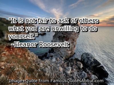 Fair quote #3