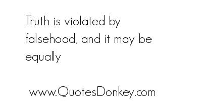 Falsehood quote #3