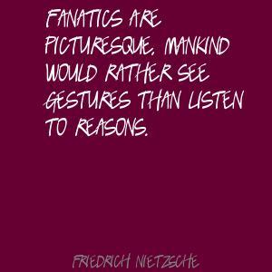 Fanatics quote #1