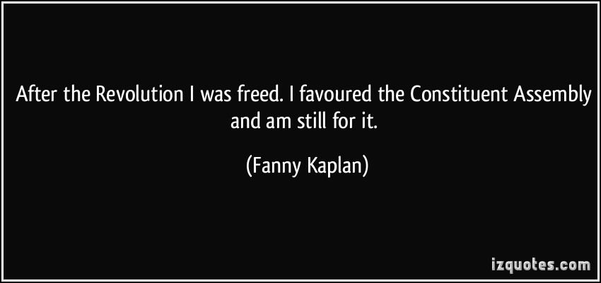 Fanny Kaplan's quote #1