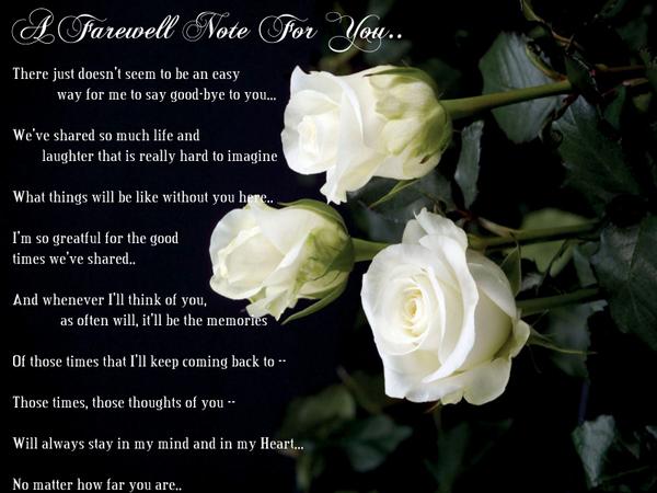 Farewell quote #5