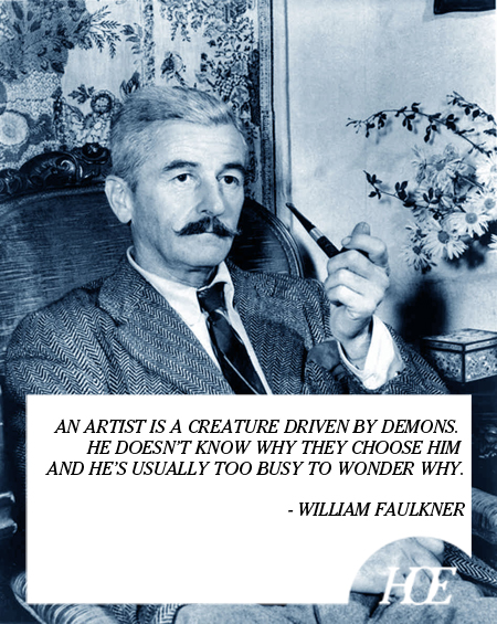 Faulkner quote #1