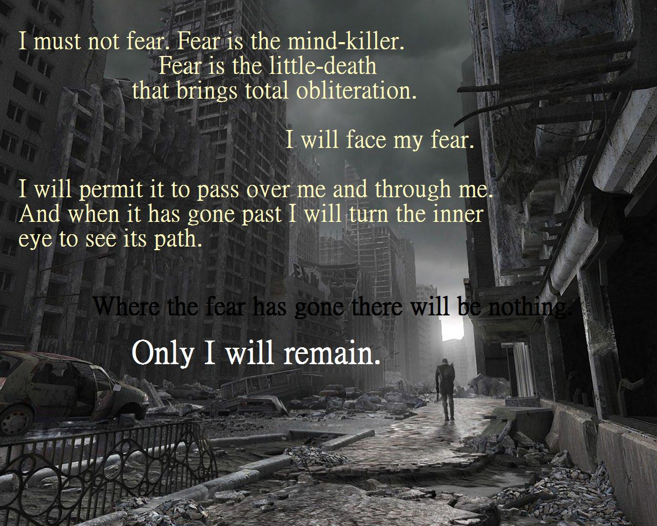 Fearful quote #4