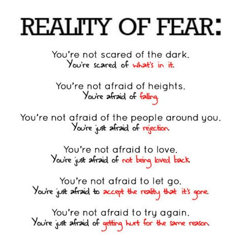 Fears quote #1