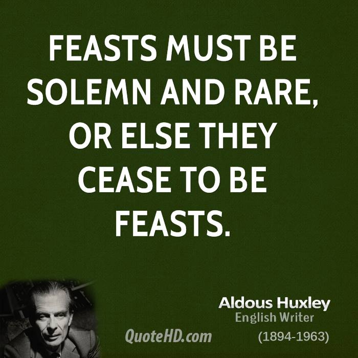 Feasts quote #2
