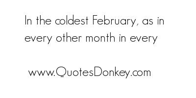 February quote #1