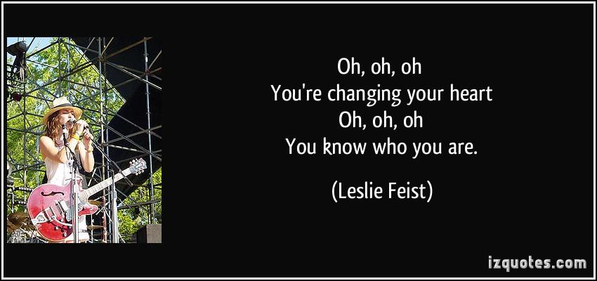 Feist's quote #1
