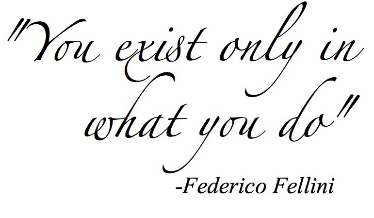Fellini quote #1
