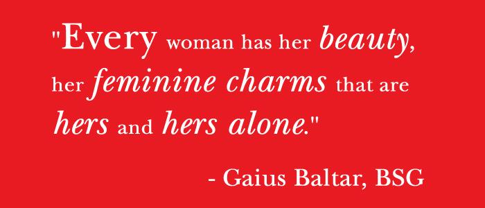 Feminine quote #4