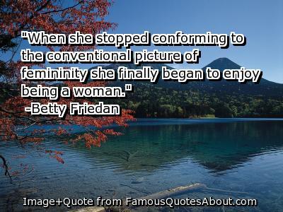 Femininity quote #4