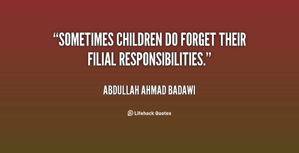 Filial quote #1