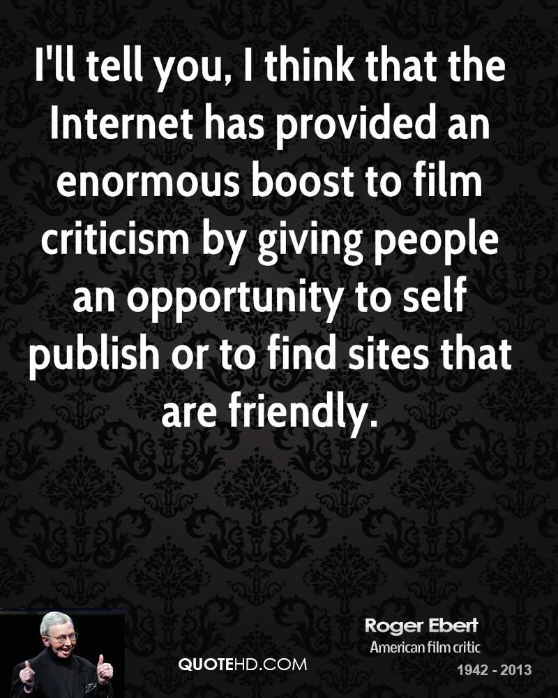 Film Criticism quote #2