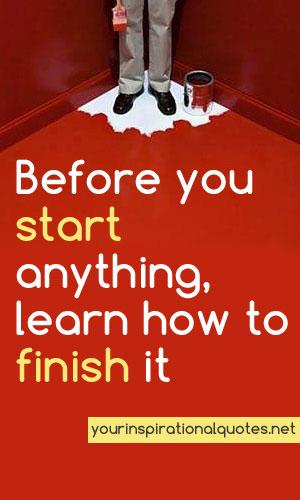 Finish quote #5