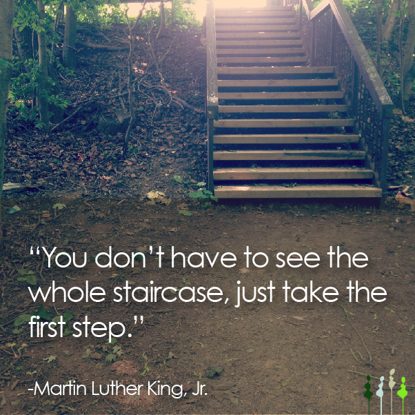First Step quote #1