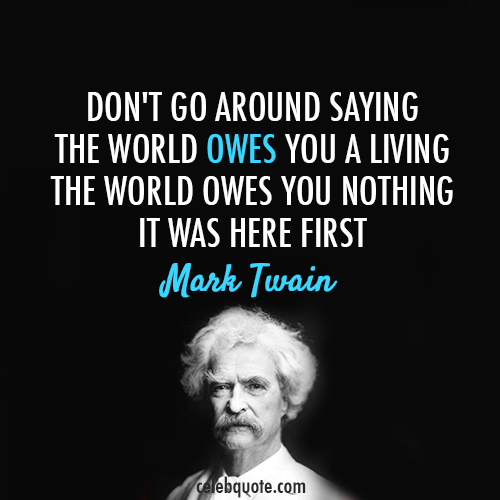 First World quote #2