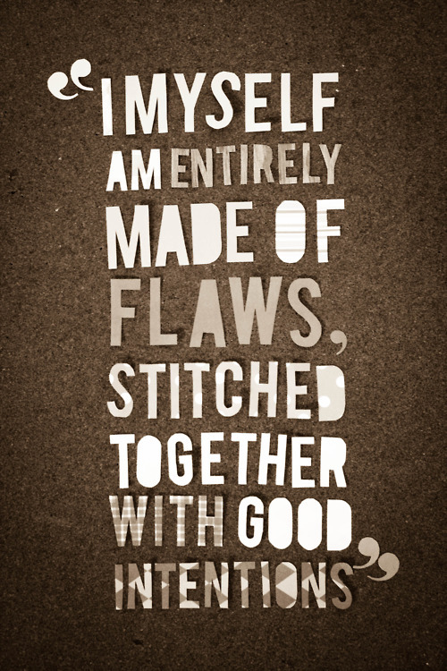 Flaws quote #1