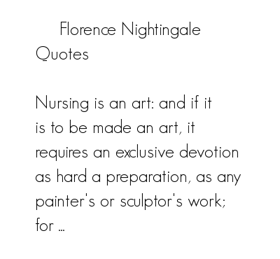 Florence Nightingale's quote #5
