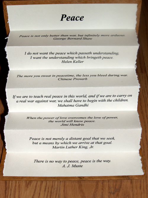 Fold quote #2