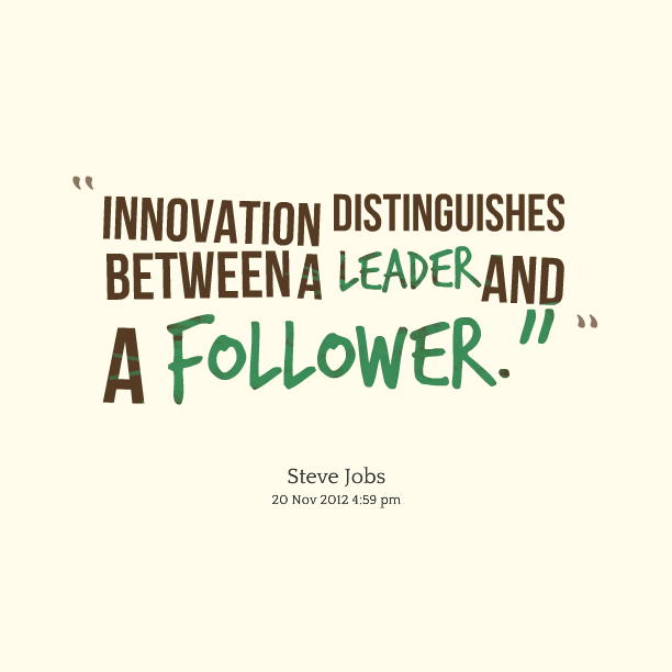 Quotes On Innovation Custom Famous Quotes About 'follower'  Sualci Quotes