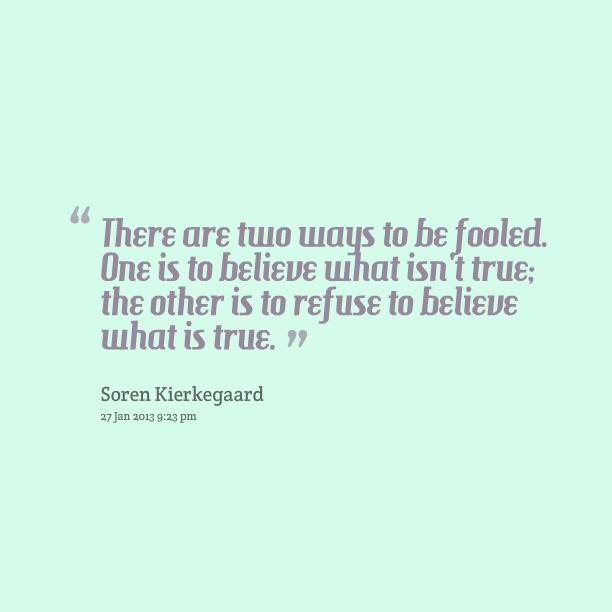 Fooled quote #4