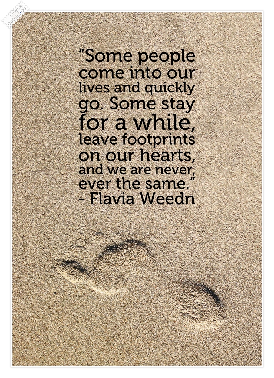 Footprints Image Quotation #8 - Sualci Quotes