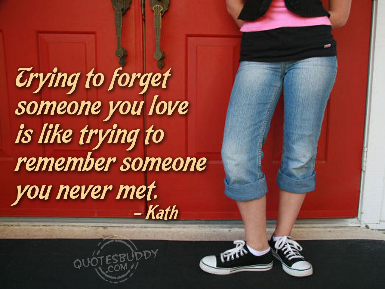 Forgetting quote #4