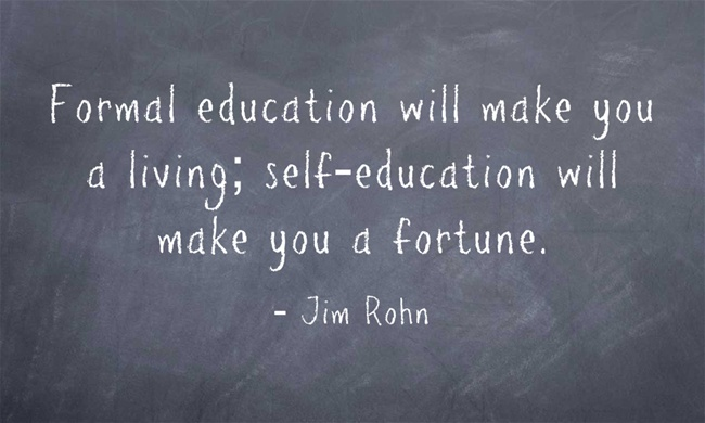 Formal Education quote #1