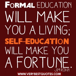 Formal Education quote #2