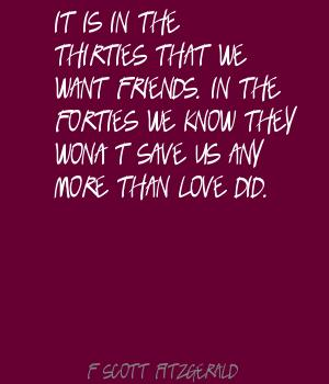 Forties quote #1