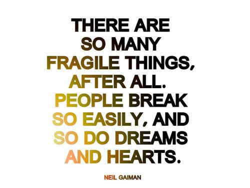 Fragile quote #5