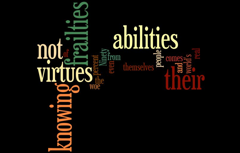 Frailties quote #1
