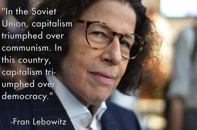 Fran Lebowitz's quote #4