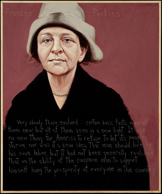 a research on the life of frances perkins The woman behind the new deal: the life and legacy of frances perkins, social security, unemployment insurance, [kirstin downey] a result of extraordinary research effort, well-written and hard-hitting, this book brings back to life a critical person in american history.