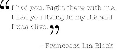 Francesca Lia Block's quote #2
