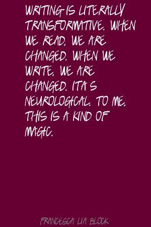 Francesca Lia Block's quote #1