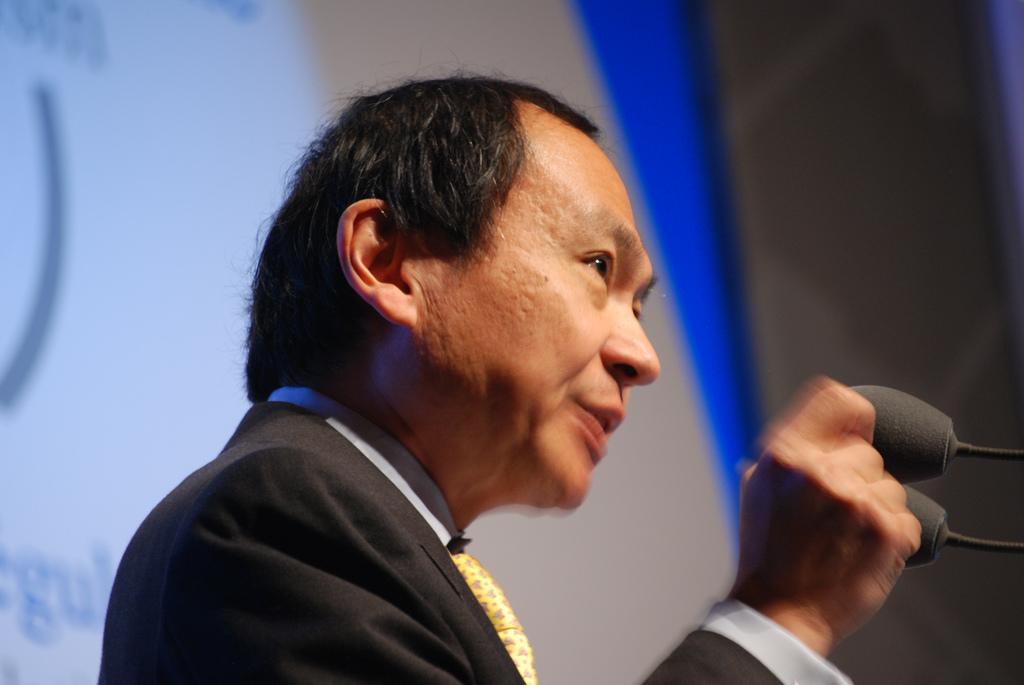 Francis Fukuyama's quote
