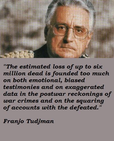 Franjo Tudjman's quote #2