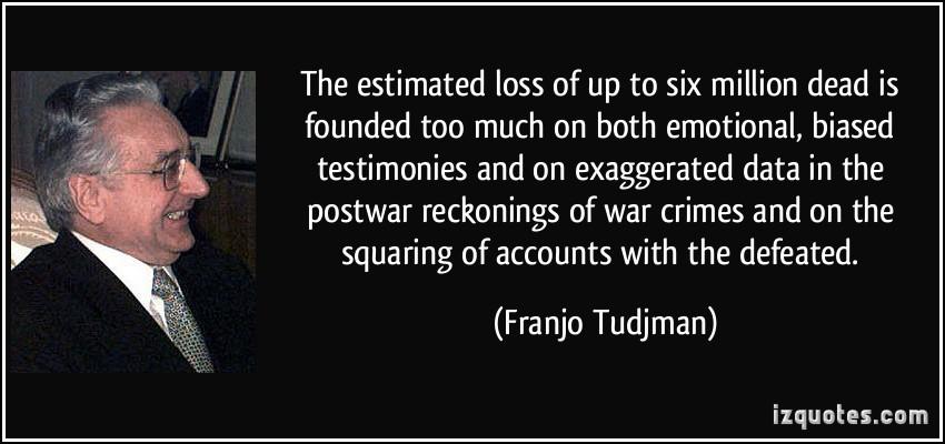 Franjo Tudjman's quote #4