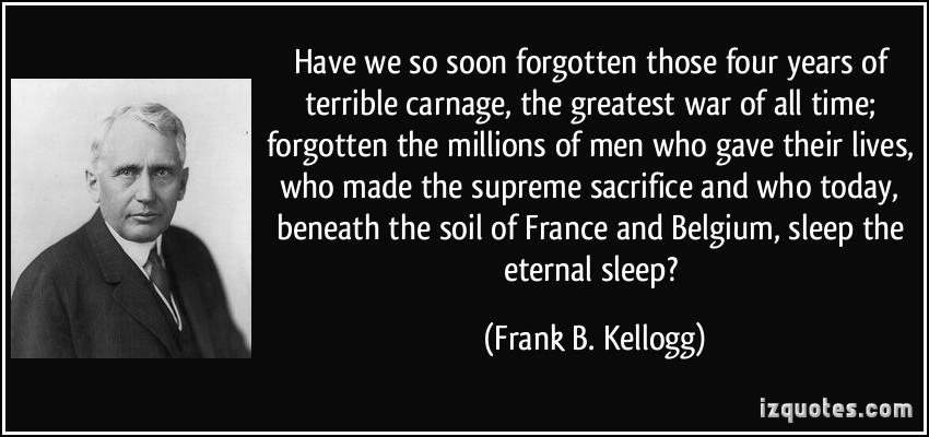 Frank B. Kellogg's quote #3