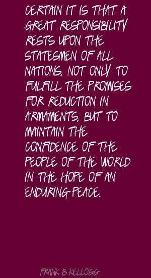 Frank B. Kellogg's quote #2